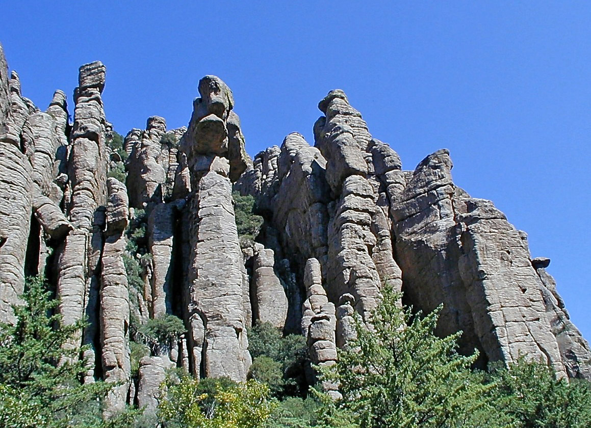 The Chiricahua Mountains in Southeastern Arizona