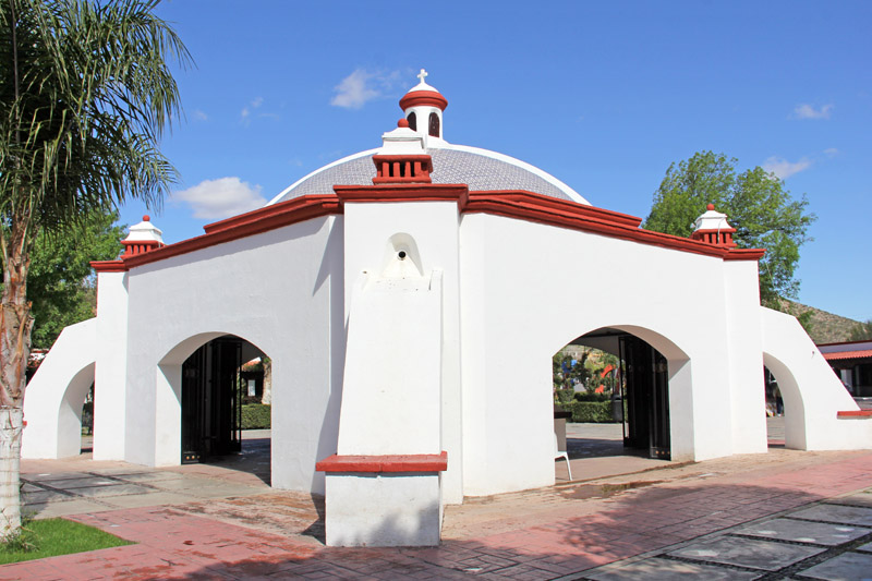 The crypt of Father Kino in Magdalena, Sonora