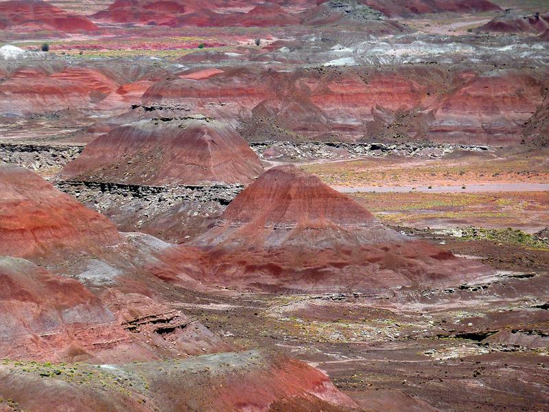 The Painted Desert, photo by Brigitte Werner
