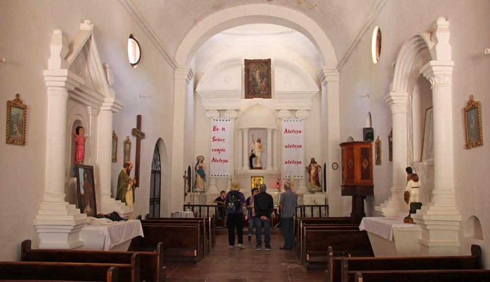 The Mission of San Ignacio de Caborica