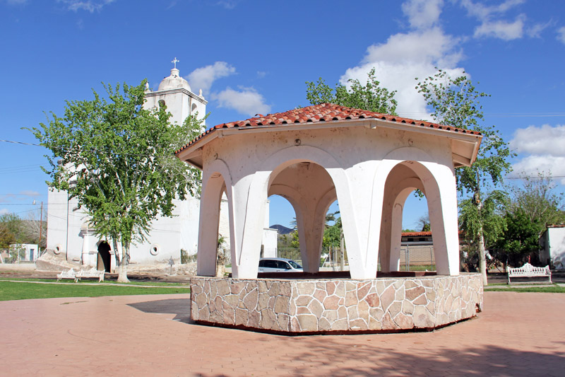 The Plaza in San Ignacio, Sonora