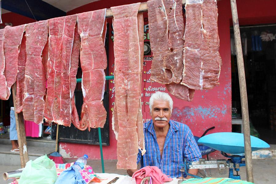 Vendor in Oaxaca, Oaxaca