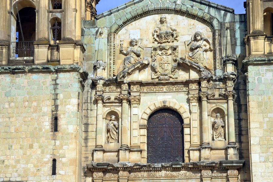 Temple in Oaxaca, Mexico