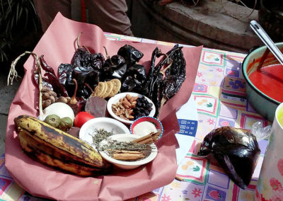 Oaxaca - Preparing Mole Negro